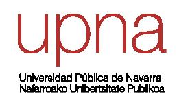 Logotipo de la Universidad Pública de Navarra
