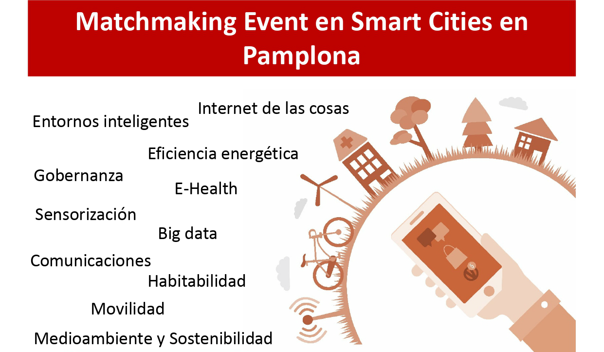 Matchmaking event sobre Smart Cities en la Universidad Pública de Navarra