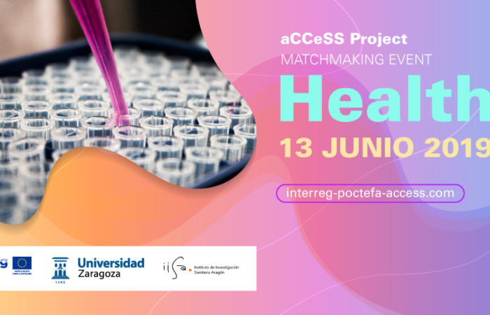 Matchmaking event sobre Salud en la Universidad de Zaragoza