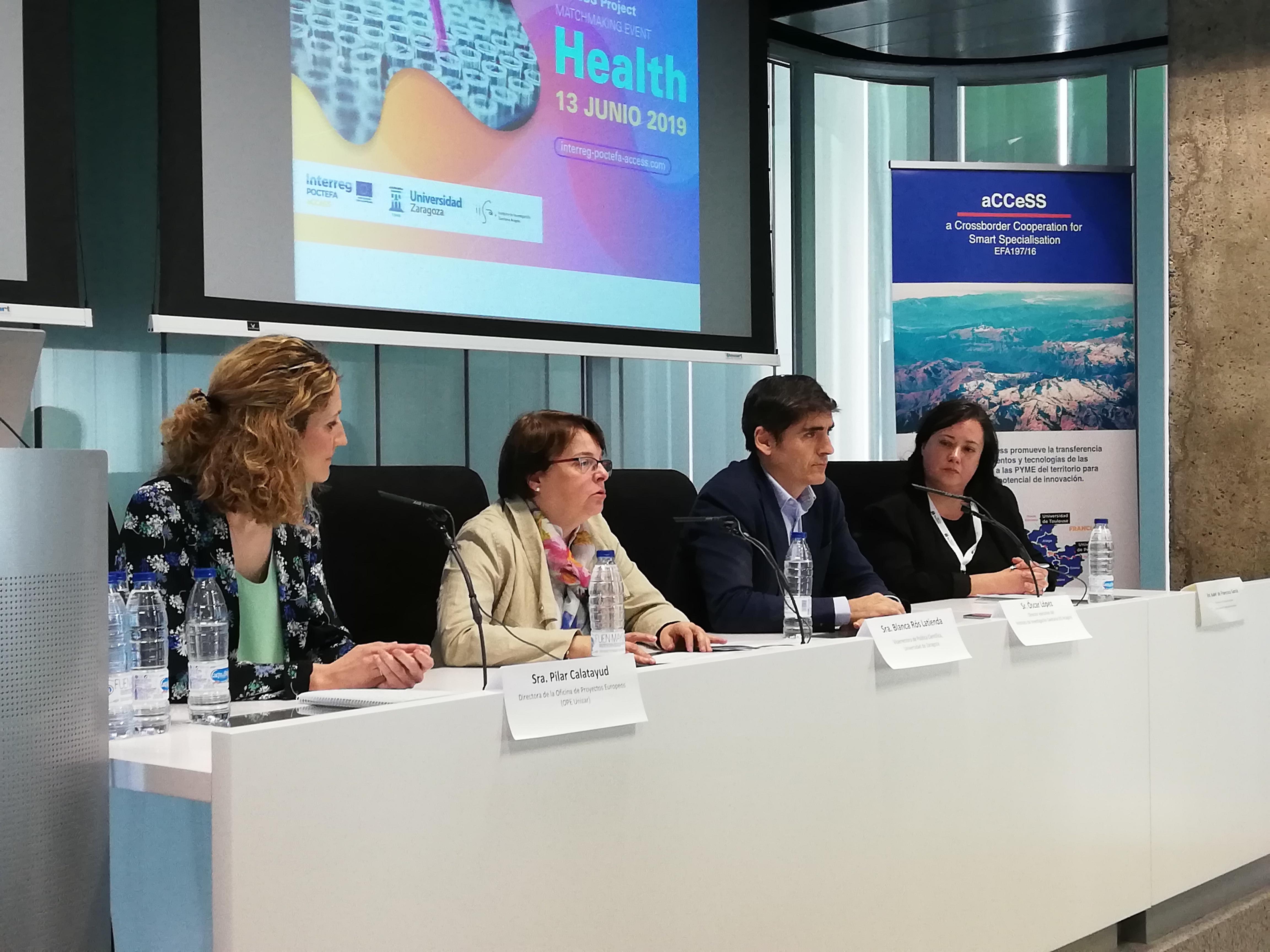 La Universidad de Zaragoza promueve una investigación más competitiva en el ámbito de la Salud para sacar músculo en Europa