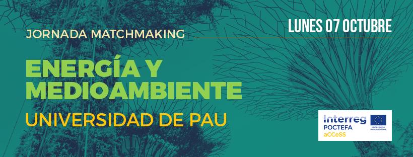 Matchmaking Event sobre Energía en la Universidad de Pau