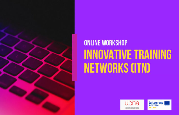 ONLINE WORKSHOP INNOVATIVE TRAINING NETWORKS (ITN)