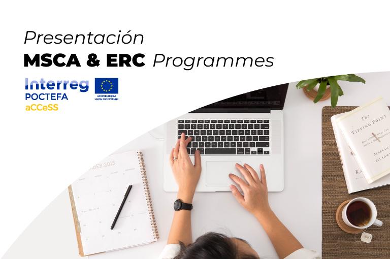 Éxito de participación en los webinars sobre MSCA & ERC Programmes