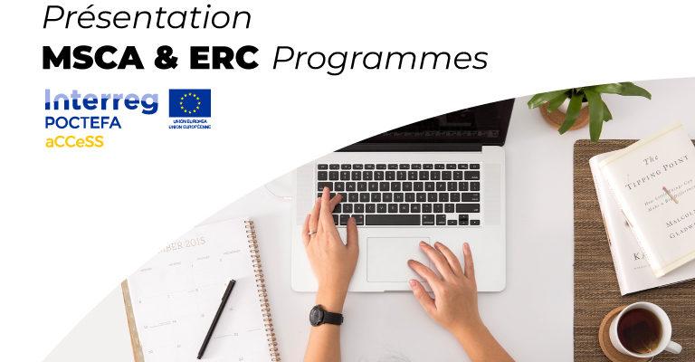 Participation réussie aux webinaires sur les programmes MSCA et ERC